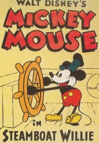 Steamboat Willie mickey mouse cartoon