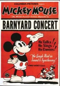 The Barnyard Concert mickey mouse cartoon