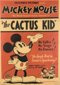"""The Cactus Kid"" mickey mouse cartoon"