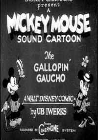 gallopin gaucho mickey mouse cartoon opening