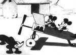 Plane Crazy Mickey Mouse Cartoon
