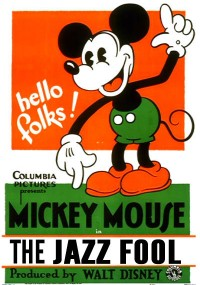 The Jazz Fool mickey mouse cartoon